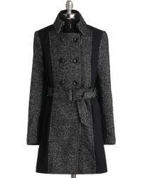 ModCloth Jades City Of Style Coat gray - Lyst