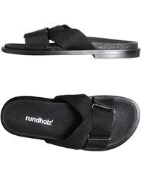 Rundholz Sandals - Black