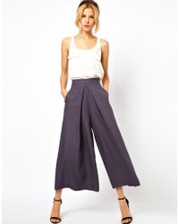 ASOS Collection Asos Trousers with Extreme Wide Leg - Lyst