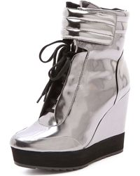 Boutique 9 - Whispers Mirror Trainers - Lyst