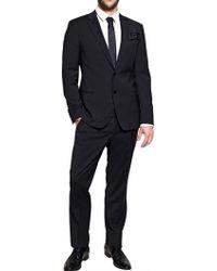 Dolce & Gabbana Stretch Wool Blend Suit - Lyst
