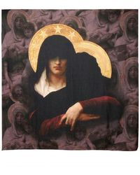 Givenchy Madonna Child Cotton Modal Scarf - Lyst