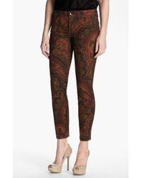Lucky Brand Sofia Print Skinny Jeans - Lyst
