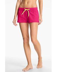 Steve Madden Knit Lounge Shorts - Lyst