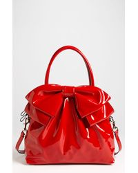 Valentino Bow Dome Satchel - Lyst