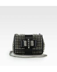 Christian Louboutin Sweet Charity Studded Mini Shoulder Bag - Lyst