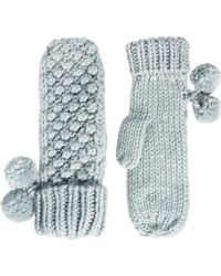 French Connection - Bobble Bubble Mittens - Lyst