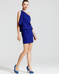 Jill Stuart Dress Oneshoulder Ruched Dress - Lyst
