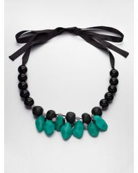 Marni Beaded Resin Necklace - Lyst