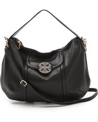 Tory Burch Amanda Cross Body Hobo - Lyst