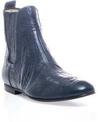 Balenciaga Chelsea Boots - Blue