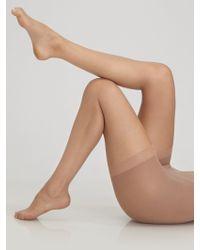 Donna Karan New York Nudes Essential Hosiery beige - Lyst