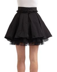 Elizabeth and James Pratte Skirt - Black
