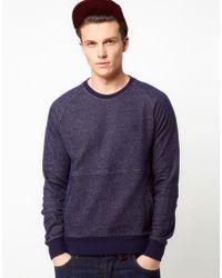Original Penguin Sweatshirt with Kangaroo Pocket - Lyst