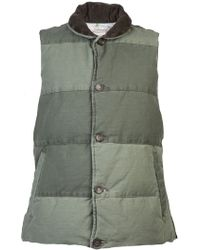 Remi Relief - Military Down Vest Jacket - Lyst