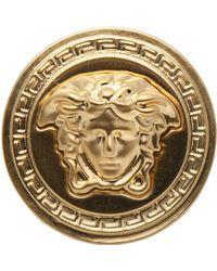 Versace 'Medusa' Ring gold - Lyst