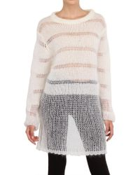 Avelon Oversize Wool Knit Sweater - Lyst