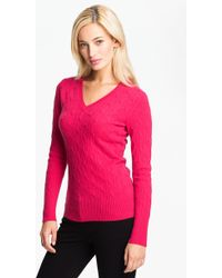 Christopher Fischer Elisa Cable Cashmere Sweater - Lyst