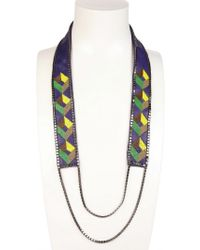 Fiona Paxton - Susa Long Beaded Necklace - Lyst