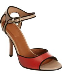 Givenchy Piped Sandal - Lyst