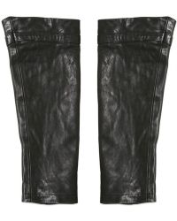 John Varvatos - Leather Sleeves - Lyst