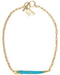 Kelly Wearstler - Sideways Horn Necklace - Lyst
