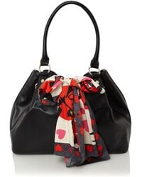 Love Moschino | Scarf Forever Large Hobo Bag | Lyst