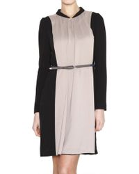 Morine Comte Marant | Techno Crepe De Chine Dress | Lyst
