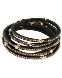 Tomasz Donocik Swarovski 7 Wrap Around Stars Bracelet - Black