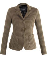 Jonathan Saunders Windsor Mesh Tailored Jacket - Lyst
