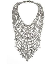 Tom Binns - Madame Dumont Swarovski Crystal Necklace - Lyst