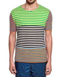 Originals x Opening Ceremony Striped Cotton Jersey Tshirt - Lyst