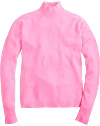 J.Crew Collection Cashmere Mockneck Sweater - Lyst