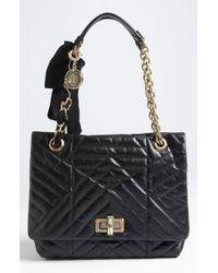 Lanvin Happy Quilted Leather Shoulder Bag - Lyst