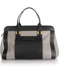 Chloé The Alice Large Leather Tote - Lyst