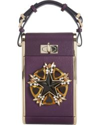 Givenchy Star Embellished Minaudière - Lyst