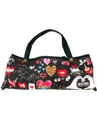 Boutique Moschino I Love Hearts Umbrella - Brown