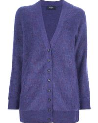 Paul Smith Black Label Knitted Cardigan - Lyst