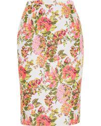 Stella McCartney Mix Print Dress - Lyst