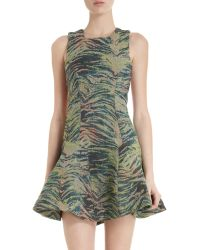 Antipodium - Jungle Embroidered Dress - Lyst