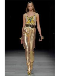 Manish Arora - 70mm Leather and Gold Scales Belt - Lyst