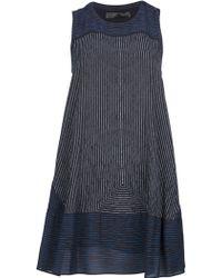 Proenza Schouler Pin Stripe Aline Dress - Lyst