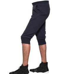 Adidas SLVR - Basic French Terry Bermuda Shorts - Lyst