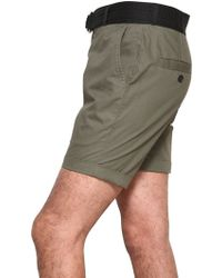 Adidas SLVR - Light Cotton Twill Judo Style Shorts - Lyst