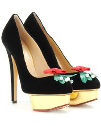 Charlotte Olympia Kiss Me Dolly Platform Pumps - Lyst
