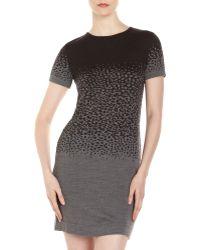 Cut25 By Yigal Azrouël Speckled Knit Sweater Dress - Lyst