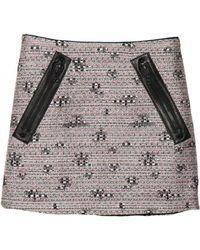Kelly Wearstler Craft Tweed Skirt - Lyst