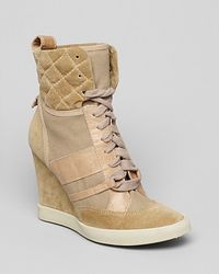 Chloé High Top Sneaker Wedges  - Lyst
