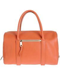 Chloé Large Leather Bag - Lyst