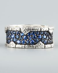 Stephen Webster - Blue Sapphire Band Ring - Lyst